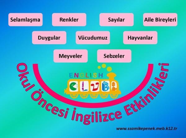 Okul Oncesi Ingilizce Etkinlikleri Suleyman Sami Kepenek Ilkokulu